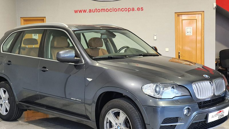 BMW X5 xDRIVE 40d 5 puertas En instalaciones de Automoción Copa