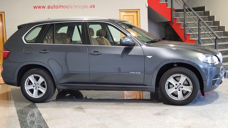 BMW X5 xdrive 40D 5 puertas Lateral copiloto