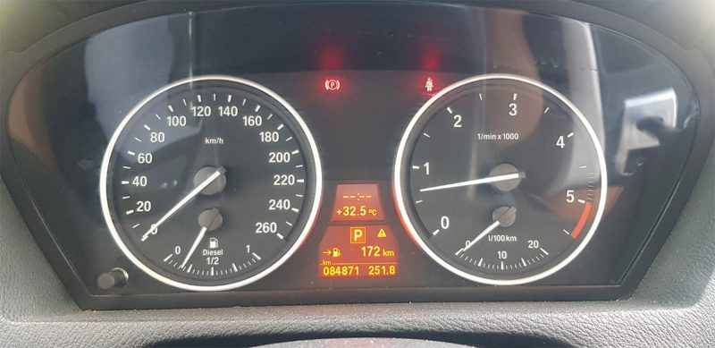 BMW X5 xdrive 40D 5 puertas Indicadores