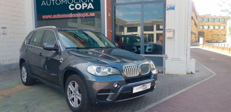 BMW X5 xdrive 40D 5 puertas Escorzo frontal derecho