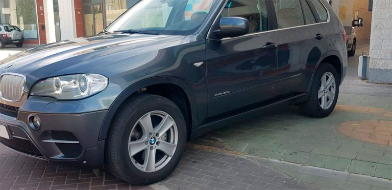 BMW X5 xdrive 40D 5 puertas Lateral conductor