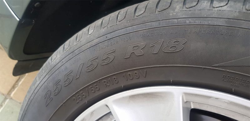 BMW X5 xDRIVE 40d 5 puertas Neumáticos