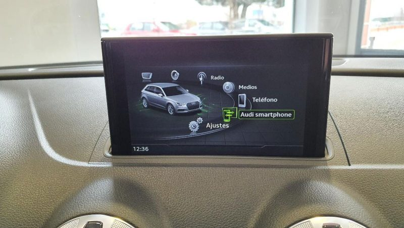 Audi A3 Sport edition 2.0 TDI navegador