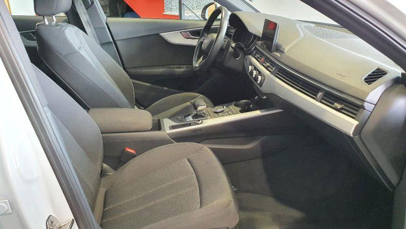 Audi A4 2.0 TDI S Tronic asientos delanteros