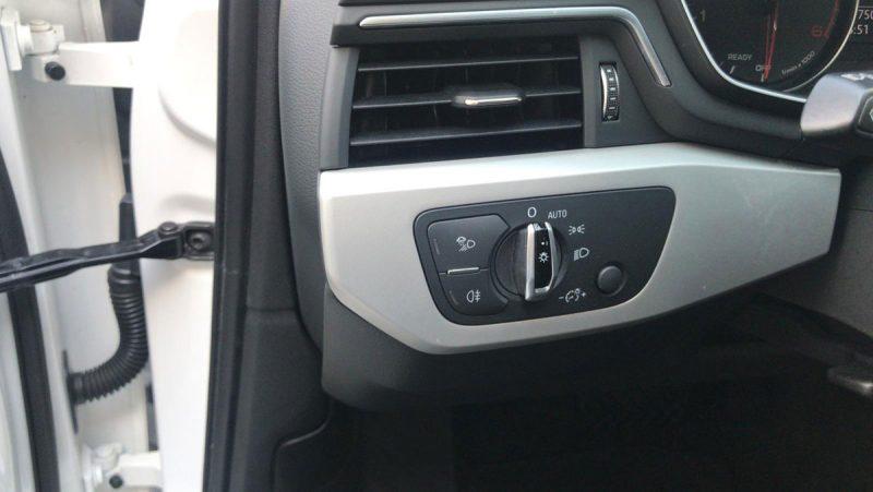 Audi A4 2.0 TDI S tronic mandos luces