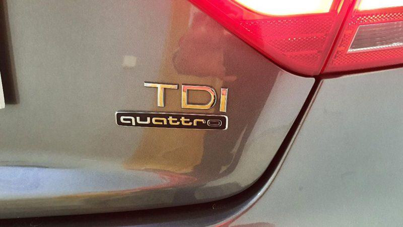 Audi A5 Sportback 2.0 TDI logo TDI
