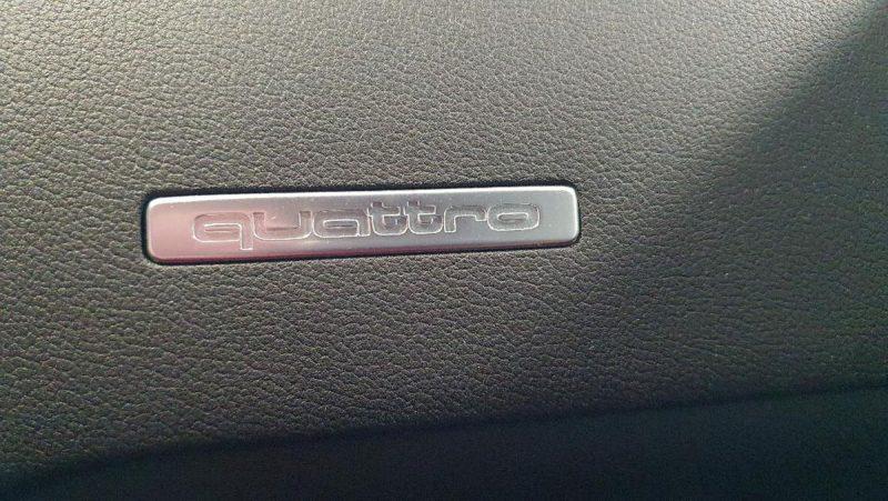 Audi A5 Sportback 2.0 TDI placa quattro