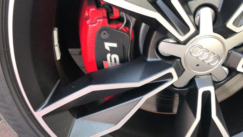 Audi S1 Sportback 2.0 TFSI quattro rueda