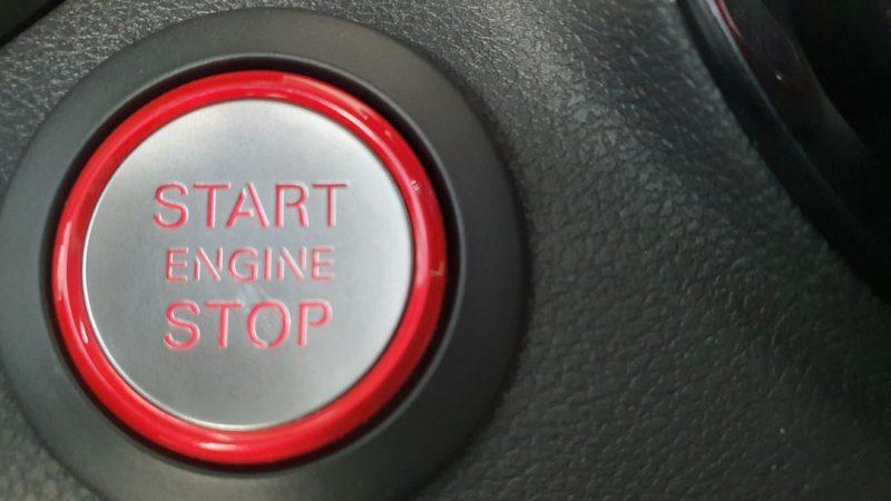 AUDI S1 Sportback 2.0 TFSI quattro boton para arrancar y apagar