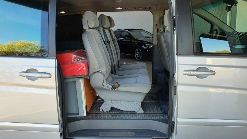 MERCEDES-BENZ VIANO 2.2 CDI Trend Extralarga asientos traseros desde la derecha