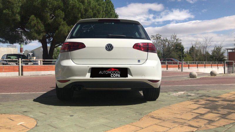 Volkswagen Golf Sport 2.0 TDI Sportback BMT DSG visión trasera