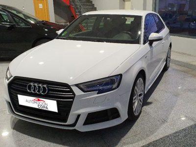 Audi A3 2.0 TDI S line edition visión delantera izd