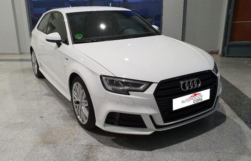 Audi A3 2.0 TDI S line edition visión delantera dch