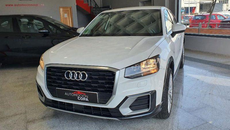 Audi Q2 design edition frontal izquierdo