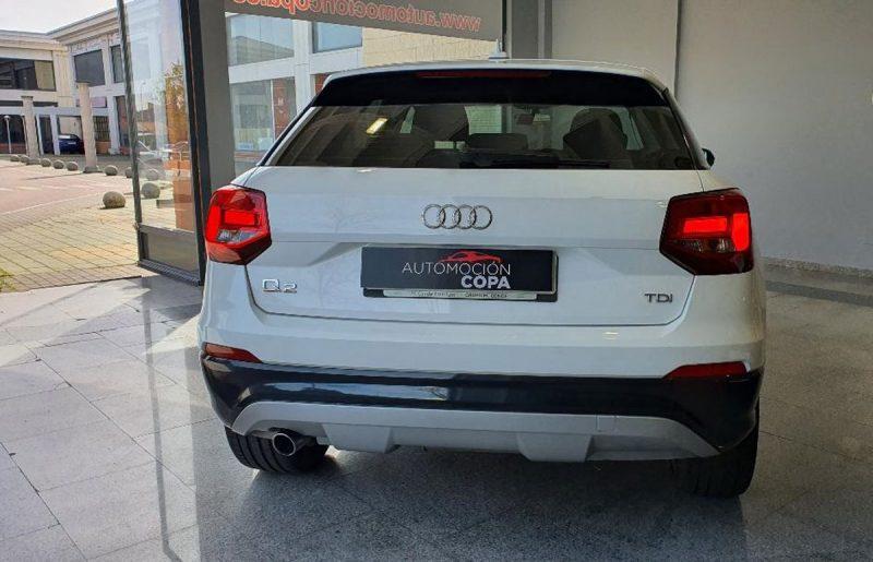 Audi Q2 design edition visión trasera