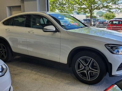 Mercedes Benz GLC Coupe 220d lateral