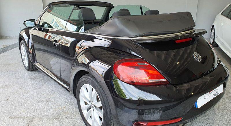 Volkswage Beetle Cabrio Auto 110KW 150CV late