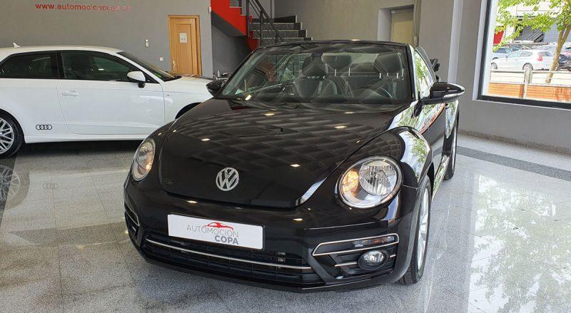 Volkswagen Beetle Cabrio Auto 110KW 150CV fronta