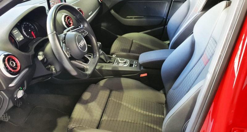 Volante y asiento Audi A3 Sedán de segunda mano