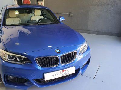 BMW Serie 2 225dA Coupe vista frontal