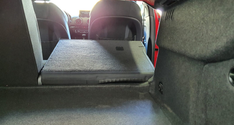 Interior Audi A3 Sport edition 1.0 TFSI Sedan 4p de segunda mano