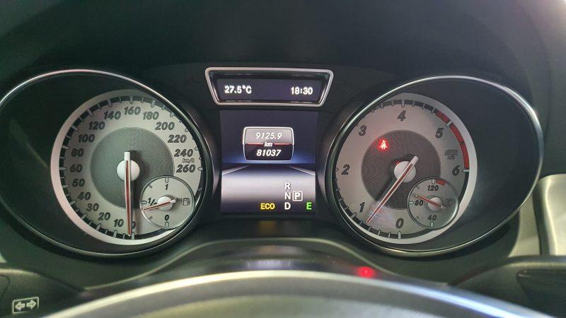 MERCEDES-BENZ Clase GLA 200 CDI AMG line 5p panel medidor kilometros por hora