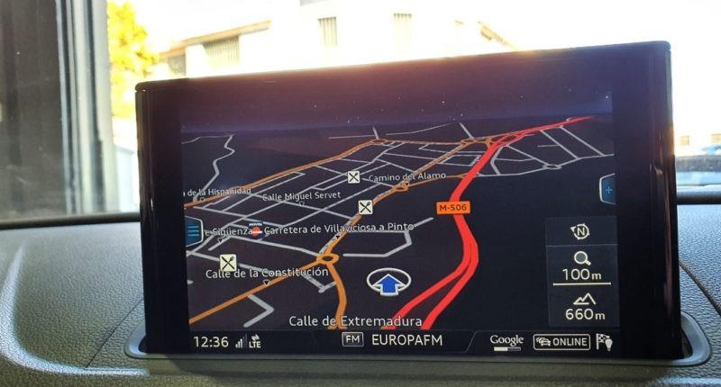 Navegador Audi A3 Sport edition 1.0 TFSI Sedan 4p de segunda mano