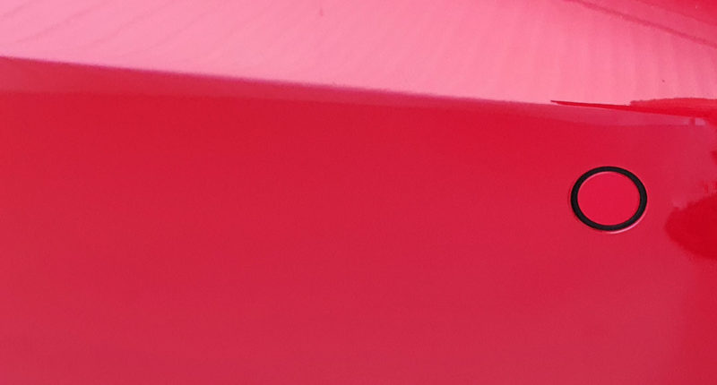Sensor trasero Audi A3 Sedán