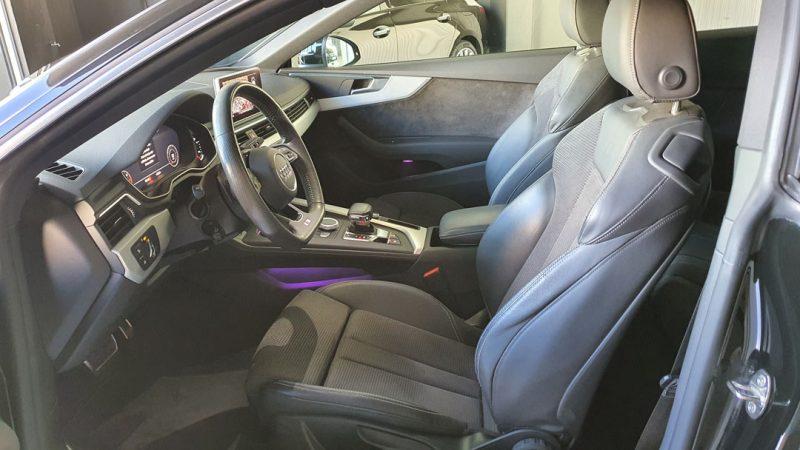 AUDI A5 2.0 TDI Coupe 190CV S line asientos delanteros