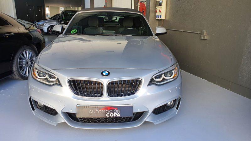 BMW Serie 2 218d Cabrio vista frontal