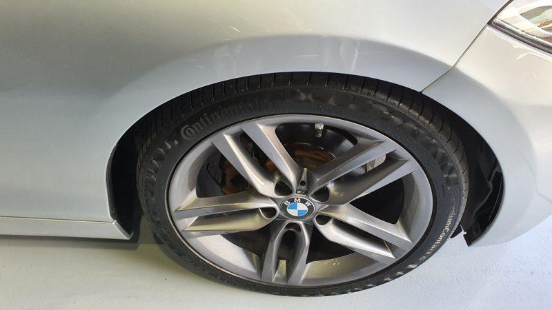 BMW Serie 2 218d Cabrio vista de la llanta delantera derecha