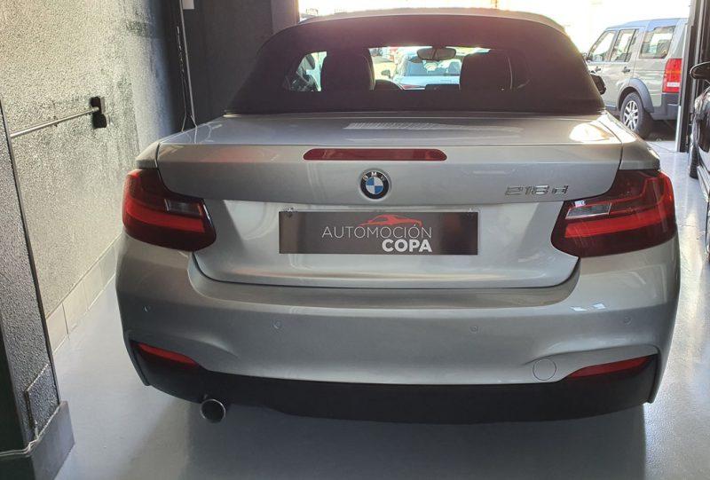 BMW Serie 2 218d Cabrio vista trasera