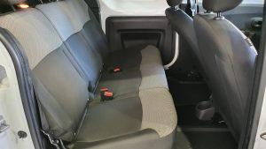 Dacia Dokker Essential dCI 90CV asientos traseros