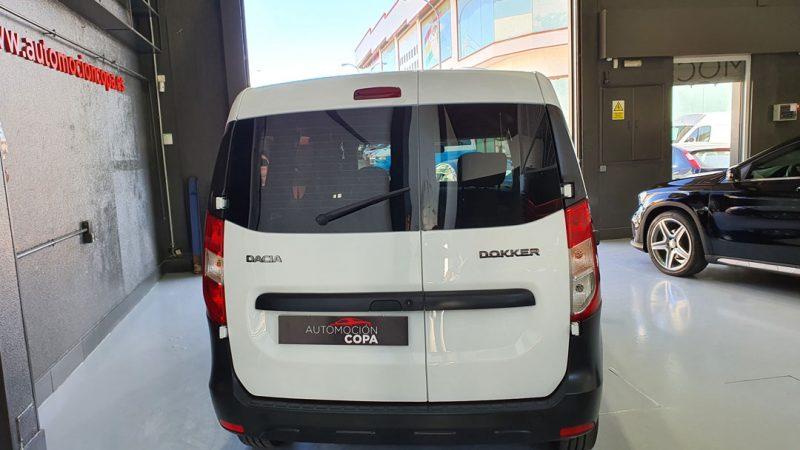 Dacia Dokker Essential dCI 90CV vista trasera