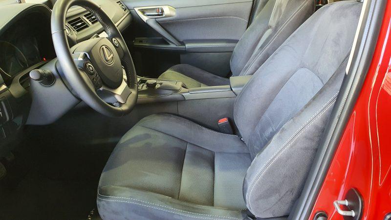 LEXUS CT 1.8 200h Business 5p asientos delanteros