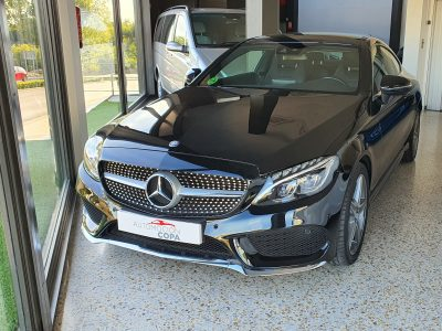 MERCEDES-BENZ Clase C Coupe 250d AMG Line vista frontal