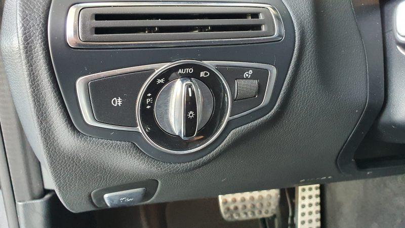 MERCEDES-BENZ Clase C Coupe 250d AMG Line control de faros