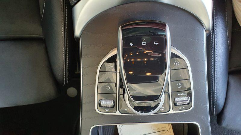 MERCEDES-BENZ Clase C Coupe 250d AMG Line palanca de cambio automatico