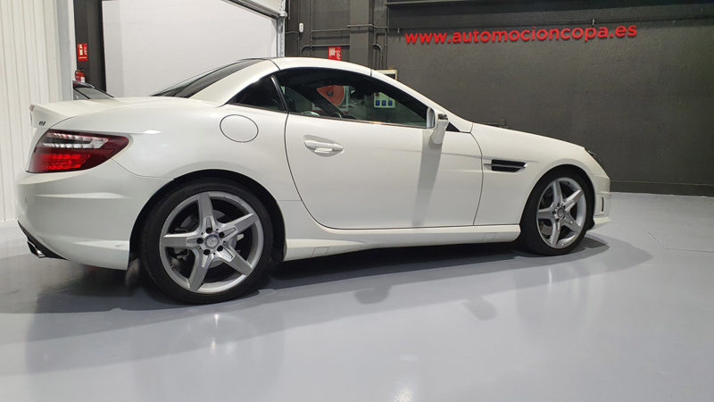 Mercedes Benz SLK segunda mano vista lateral