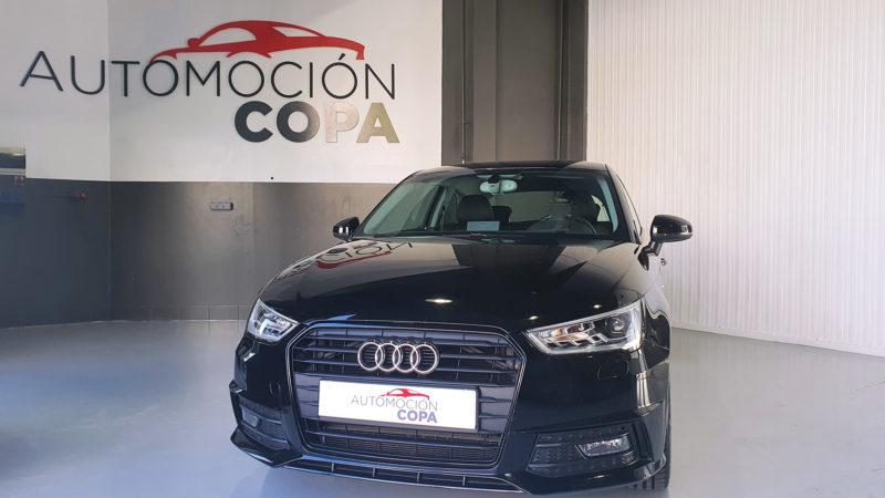 vista frontal Audi A1