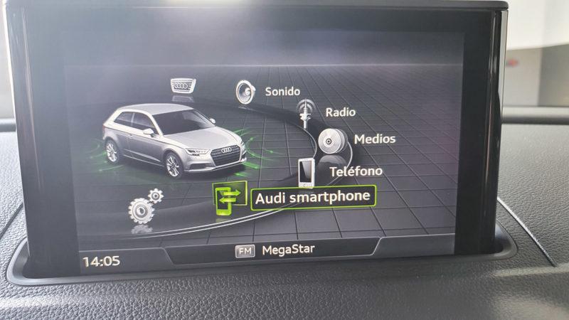 vista pantalla controles