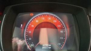 Salpicadero del Renault Kadjar