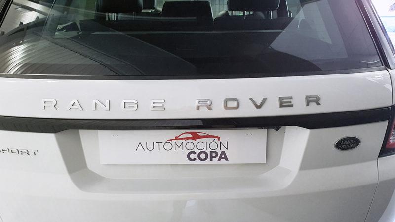 Range Rover Sport 3.0 TDV6 de segunda mano, trasera.