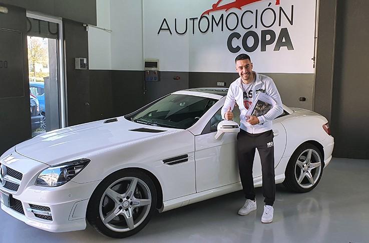 Cliente satisfecho de Automoción Copa