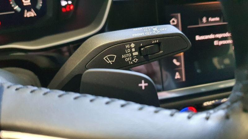 Audi Q3 de ocasión, levas en volante