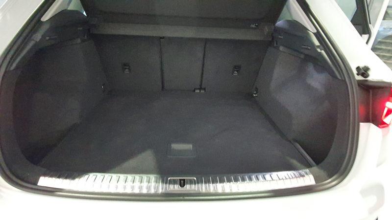maletero del Audi Q3 de ocasión