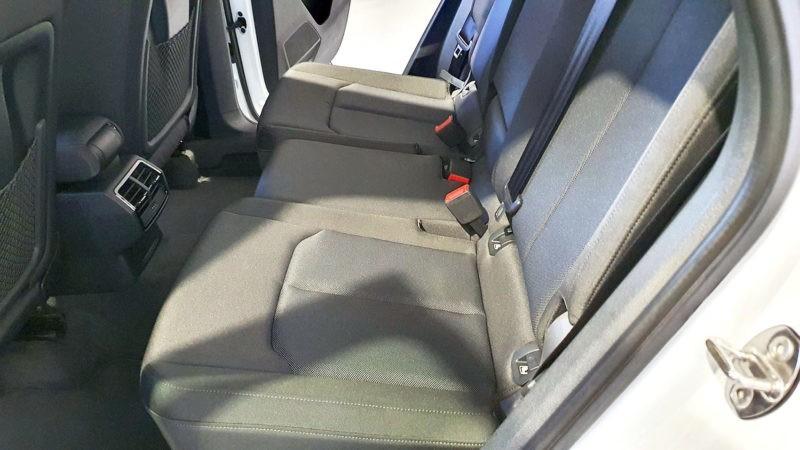 Vision asientos traseros
