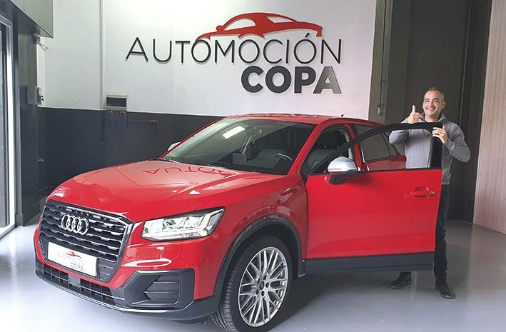 Opiniones Automoción Copa, cliente satisfecho Audi Q2