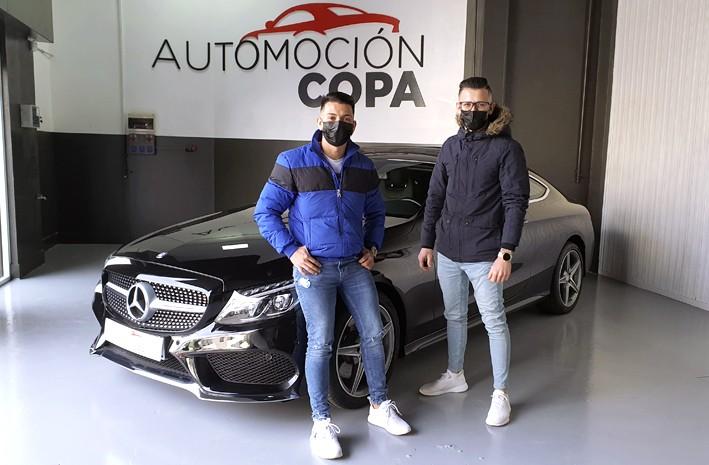 Opiniones Automoción Copa, cliente satisfecho Mercedes CLASE C