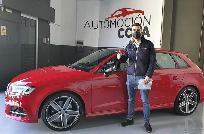 Cliente satisfecho, Audi S3